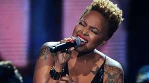 Chrisette Michele performs onstage at the 2013 Soul