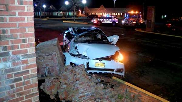 Two people reportedly had to be extricated from