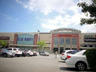 The exterior of the Source Mall is seen