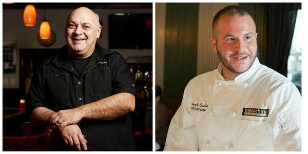 Chef Massimo Fedozzi, left, has departed Tra'mici in