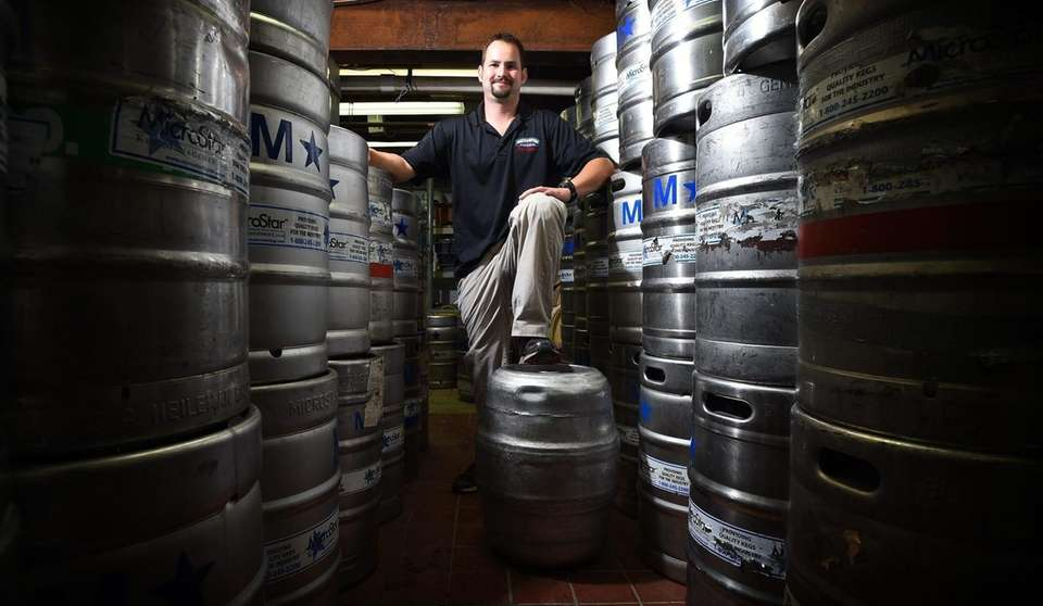 Brewmaster Evan Addario of the Southampton Publick House