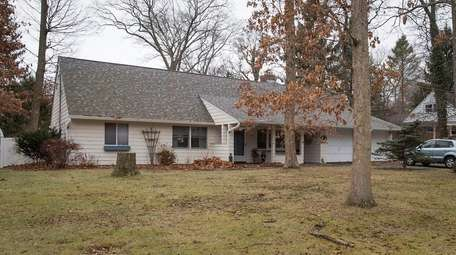 The five-bedroom farm ranch on a 0.56-acre lot