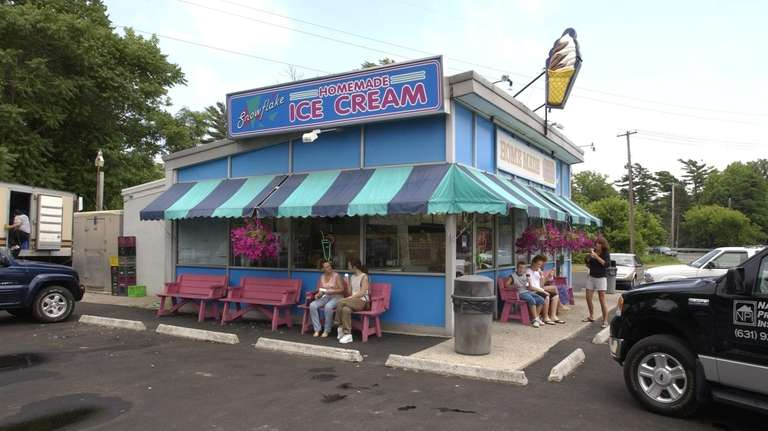 Snowflake's soft-serve ice cream is the stuff of