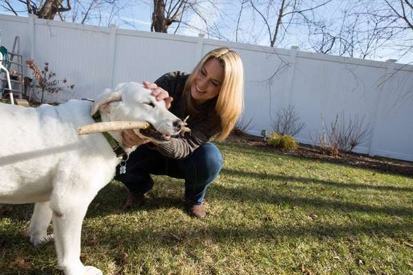 Melissa Bielawski, founder of Ollie's Angels Animal Rescue,