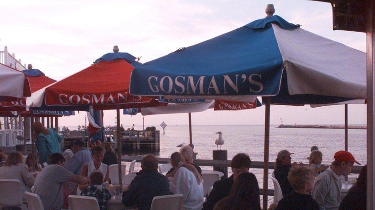 Gosman's Dock is a fixture in Montauk, much