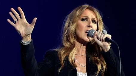Celine Dion, who sang the title track for