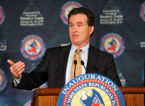 State Senate Majority Leader John Flanagan says on