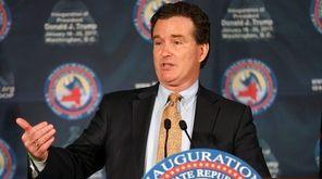 State Senate Majority Leader John Flanagan says on