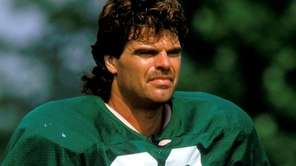 Former New York Jets defensive end Mark Gastineau.