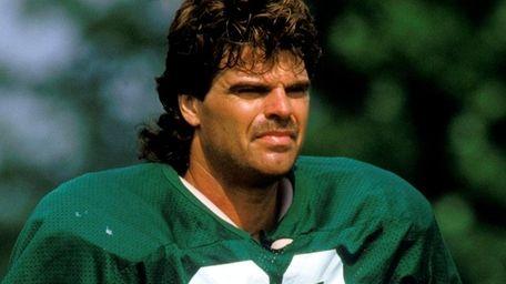 Former New York Jets defensive end Mark Gastineau.