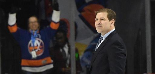 New York Islanders interim head coach Doug Weight
