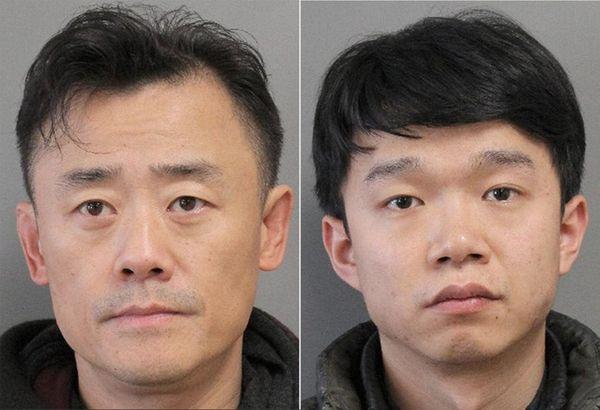 Driver Zhou Libo, 49, of Alpine, and passenger