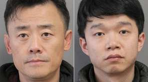 Driver Zhou Libo, 49, of Alpine, and passenger