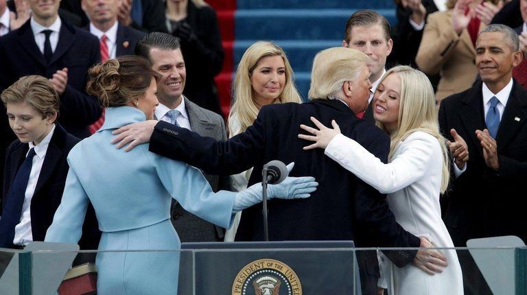 WASHINGTON, DC - JANUARY 20: President Donald Trump