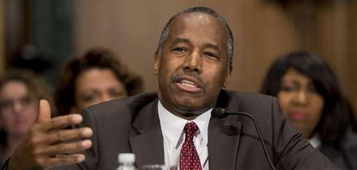 Ben Carson, Trump's nominee for secretary of housing