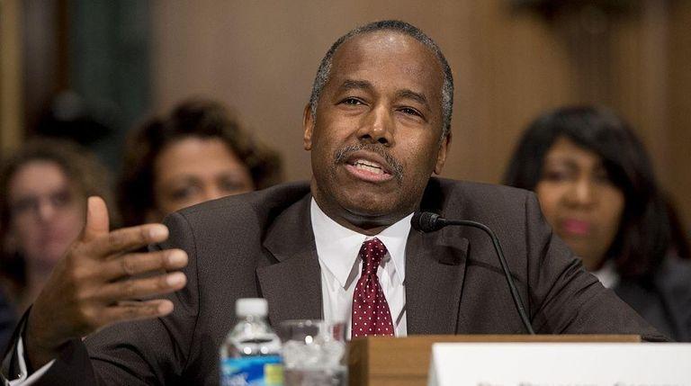 Ben Carson, Trump's nominee for secretary of housing