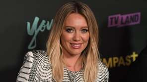 Actress Hilary Duff attends the