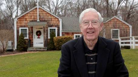 Former Nissequogue mayor John L. Donahue outside Village