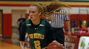 Ward Melville's Lauren Hansen #2 drives to the