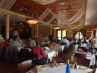 The dining room at Cafe Formaggio in Carle