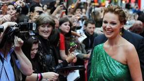 Actress Katherine Heigl arrives for the European premiere