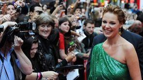 Actress Katherine Heigl arrives for the European premiere