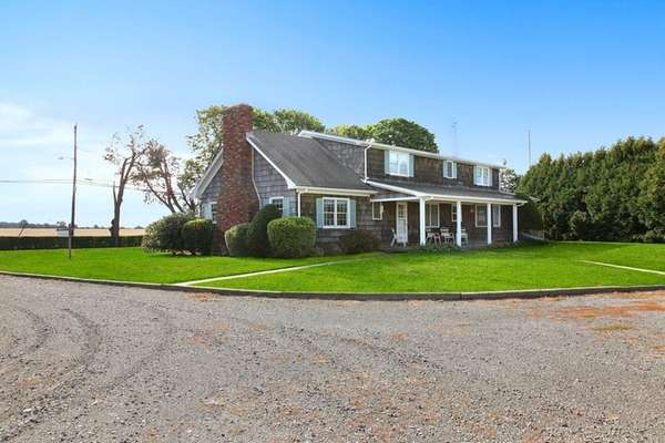 This 39-acre Riverhead farm property includes a three-bedroom
