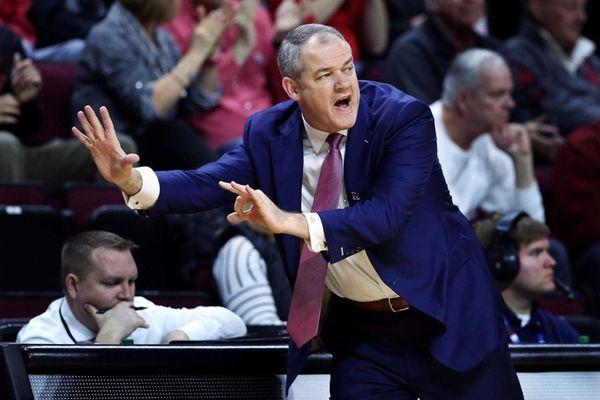 Rutgers head coach Steve Pikiell, formerly Stony Brook