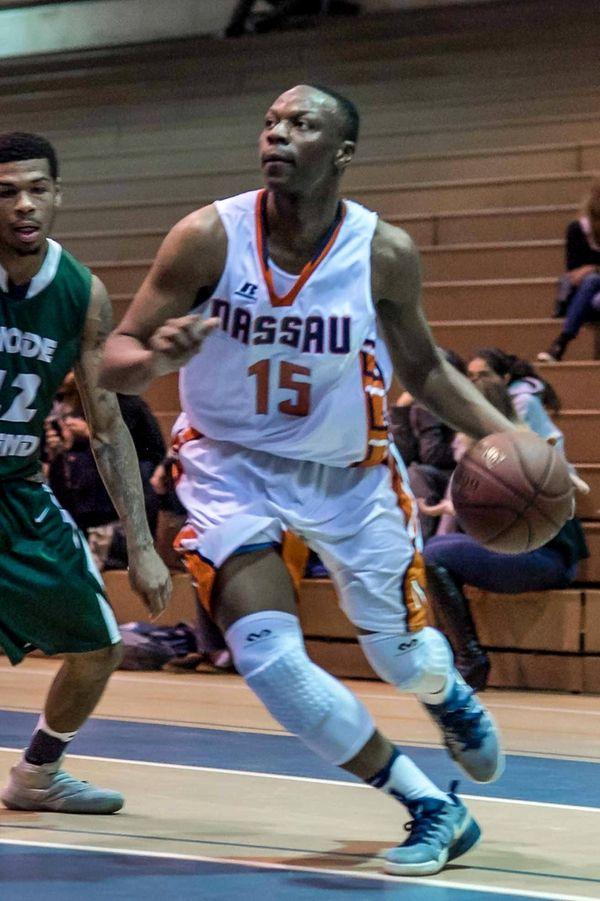 Nassau Community College Mens Basketball player Kevon Chambers