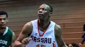 Nassau Community College Mens Basketball player Kevon Chambers