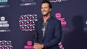 Country star Luke Bryan is