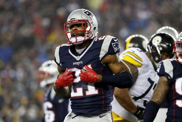 Malcolm Butler #21 of the New England Patriots
