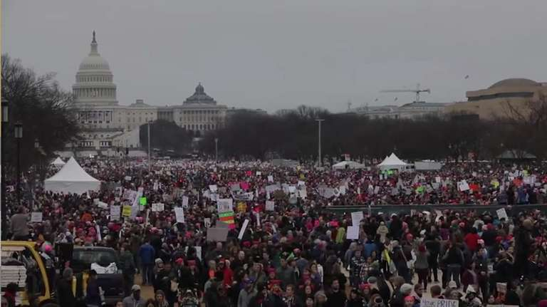 Women of the D.C. Women's March discuss their