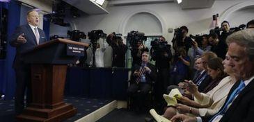 White House press Secretary Sean Spicer at the
