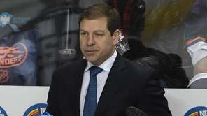 New York Islanders interim head coach Doug Weight