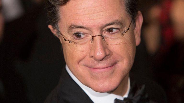 Stephen Colbert attends an event in Washington, D.C.,
