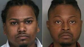 Kareem Shepherd, 28, left, and Kirby Cineas, 31,
