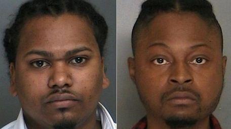 Kareem Shepherd, 28, left, and Kirby Cineas, 31,