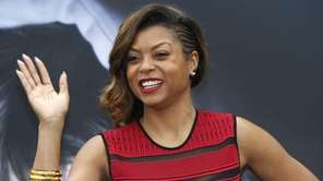 US actress Taraji P.Henson poses during the 55th