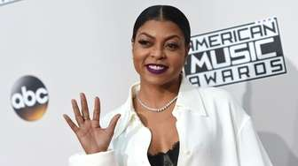 Actress Taraji P. Henson arrives for the 2016