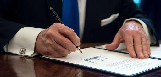 President Donald Trump has signed multiple executive orders
