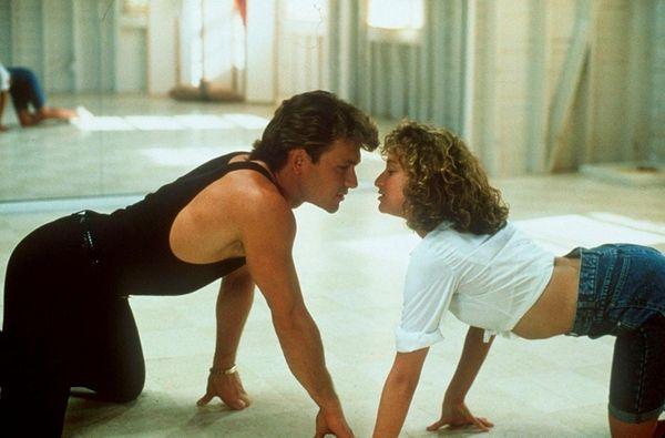 Patrick Swayze and Jennifer Grey were the prime