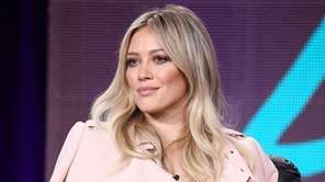 Actress Hilary Duff speaks onstage during the Viacom
