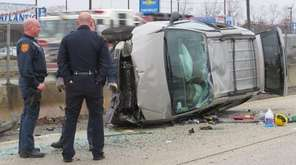 Suffolk County police are on scene Tuesday, Jan.