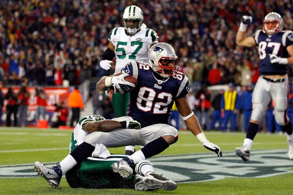 2 yards, divisional round vs. Jets, Jan. 16,