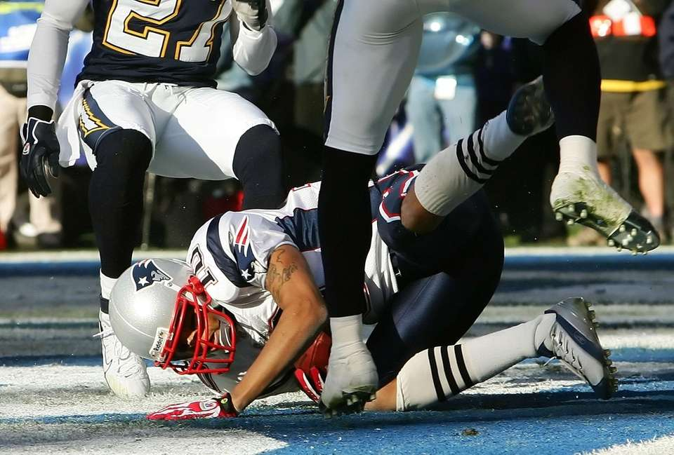 6 yards, divisional round vs. San Diego Chargers,