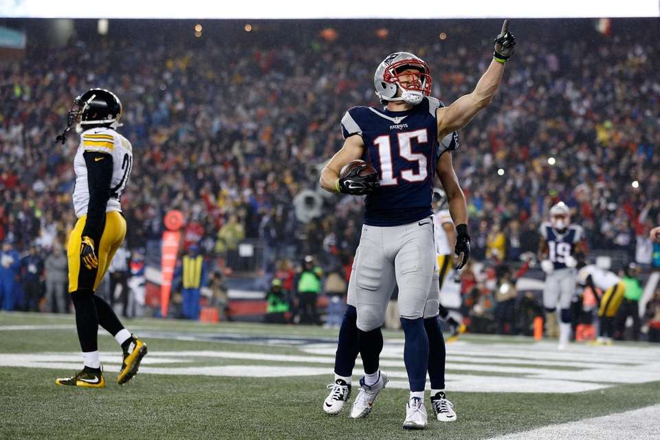 16 yards, AFC Championship Game vs. Pittsburgh Steelers,