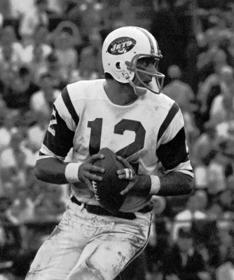 Namath helped lead the Jets to their first