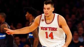 Willy Hernangomez #14 of the New York Knicks