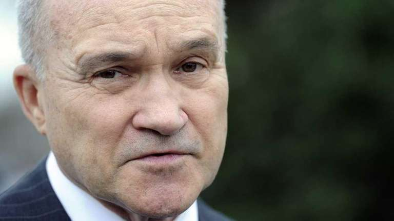Former New York City Police Commissioner Ray Kelly